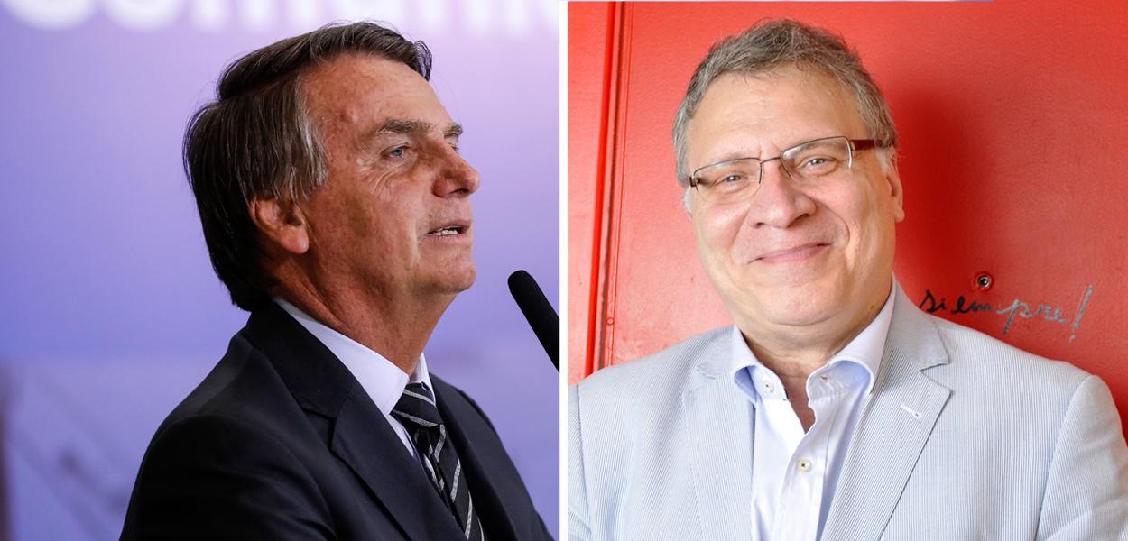 Jair Bolsonaro e Eugênio Aragão