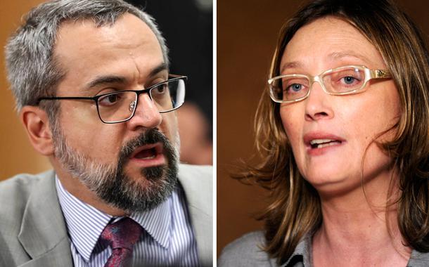 Abraham Weintraub e Maria do Rosário