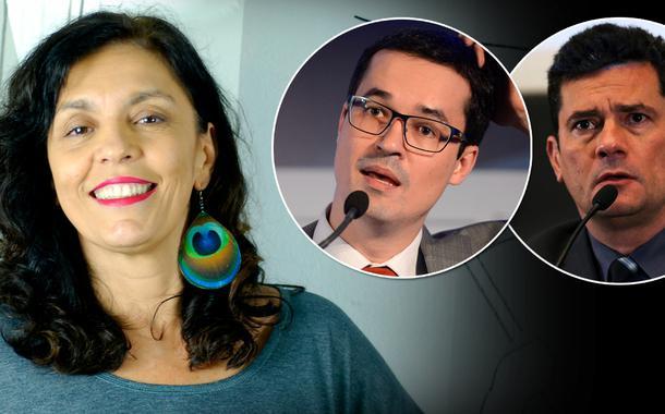 Cynara Menezes, Deltan Dallagnol e Sergio Moro