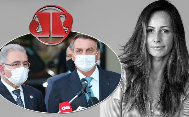 Marcelo Queiroga, Jair Bolsonaro e Ana Paula Henkel