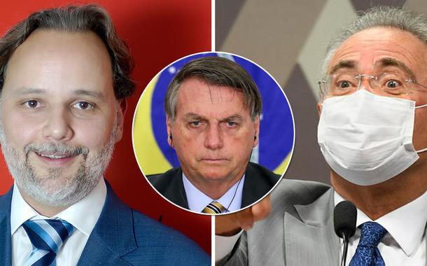 Marco Aurélio de Carvalho, Jair Bolsonaro e Renan Calheiros