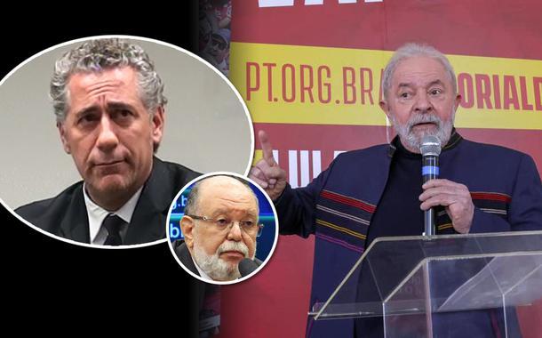 Ex-diretor da OAS Augusto Cesar Uzeda, ex-presidente da empreiteira Léo Pinheiro e o ex-presidente Luiz Inácio Lula da Silva