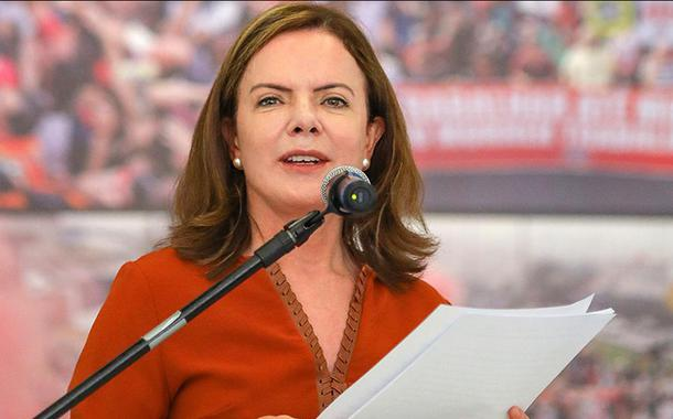 Deputada Gleisi Hoffmann (PR)
