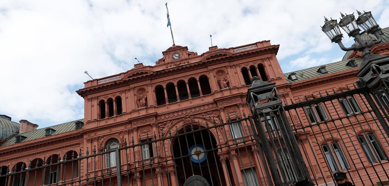 Casa Rosada, a sede da presidência argentina, em Buenos Aires