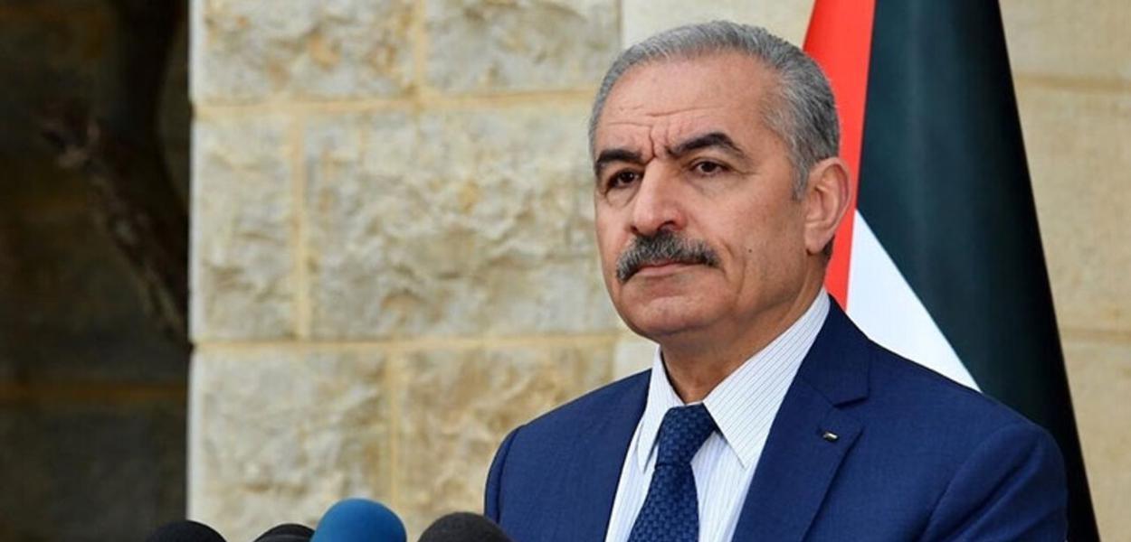 Primeiro-ministro palestino, Mohammad Shtayyeh