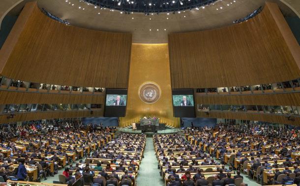 Plenária da Assembleia Geral da ONU