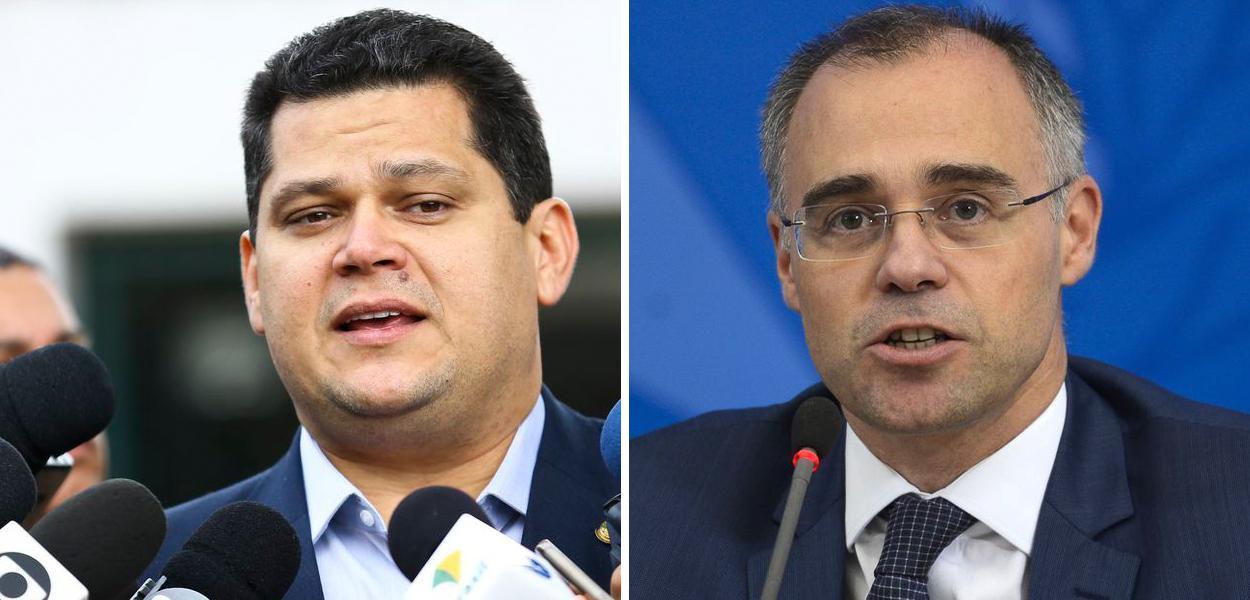 Davi Alcolumbre e André Mendonça