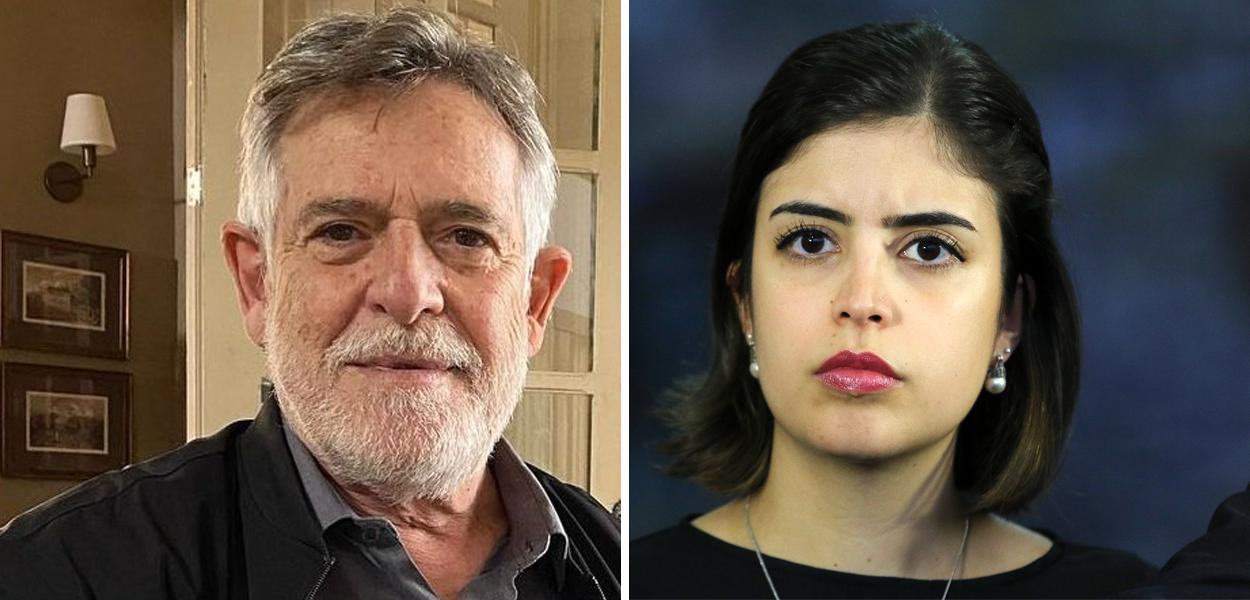 Zé de Abreu e Tabata Amaral
