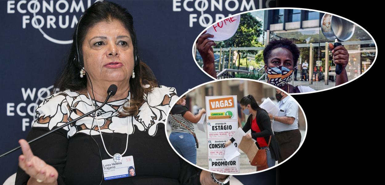 Empresária Luiza Trajano