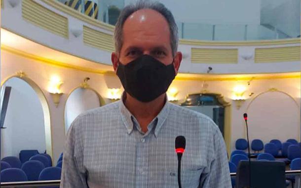 Vereador de Poços de Caldas Claudiney Marques (PSDB)