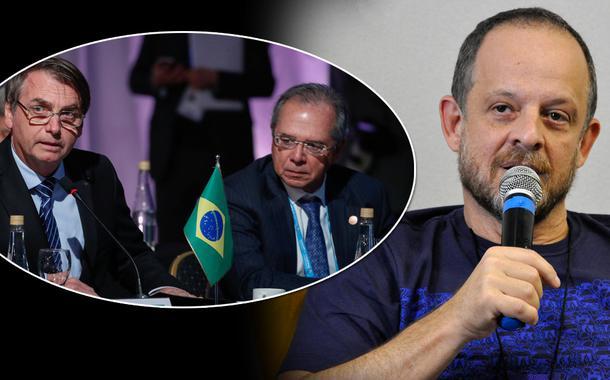 Jair Bolsonaro, Paulo Guedes e Breno Altman