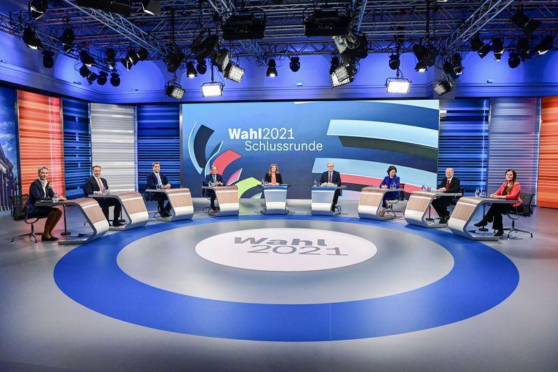 Candidatos se enfrentam em último debate na TV antes de eleições na Alemanha