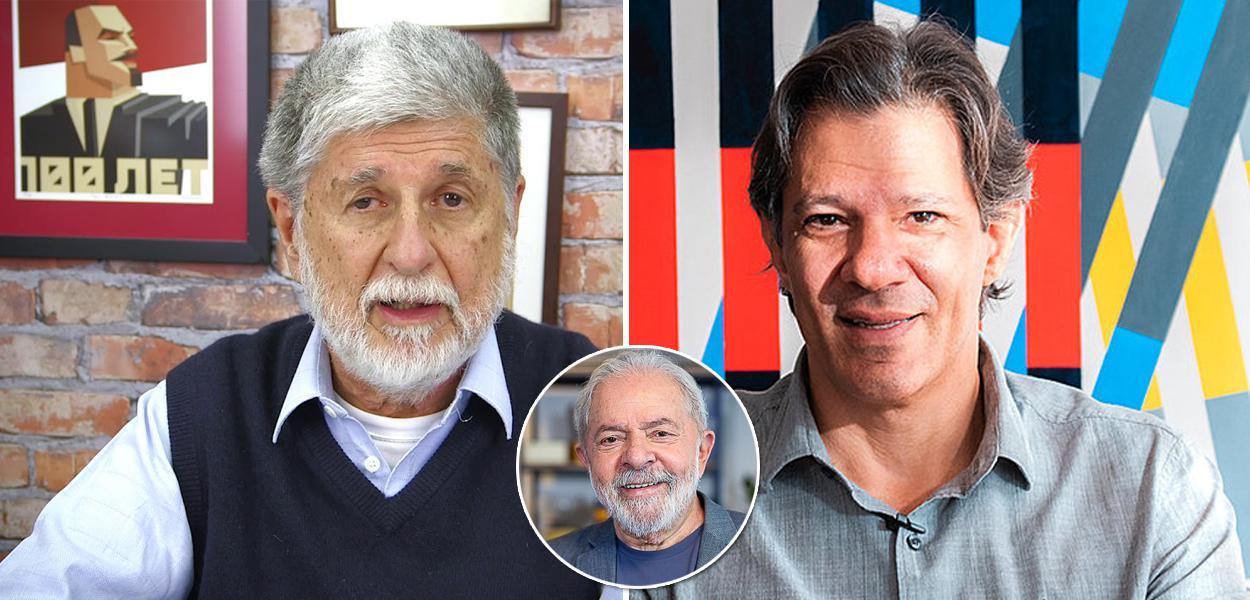 Celso Amorim, Lula e Fernando Haddad