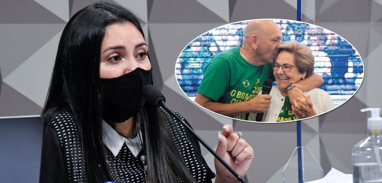 Bruna Morato, Luciano e Regina Hang