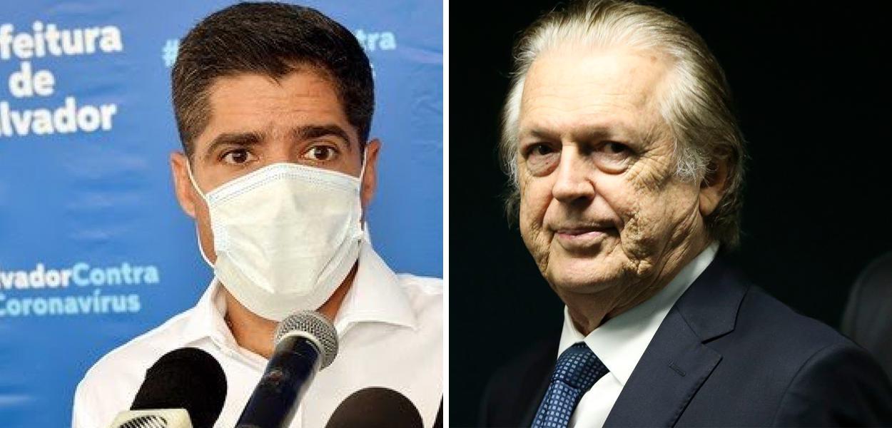 ACM Neto e Luciano Bivar