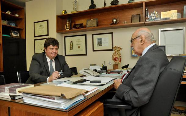 Paulo Henrique Arantes e Adib Domingos Jatene