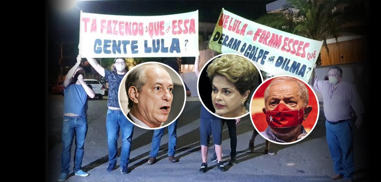 Ciro Gomes, Dilma e Lula
