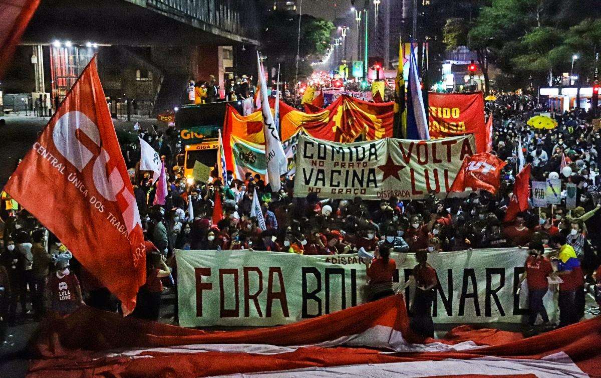 """Não há condições políticas para novos projetos da campanha pelo """"Fora Bolsonaro"""", diz Raimundo Bonfim, da CMP"""