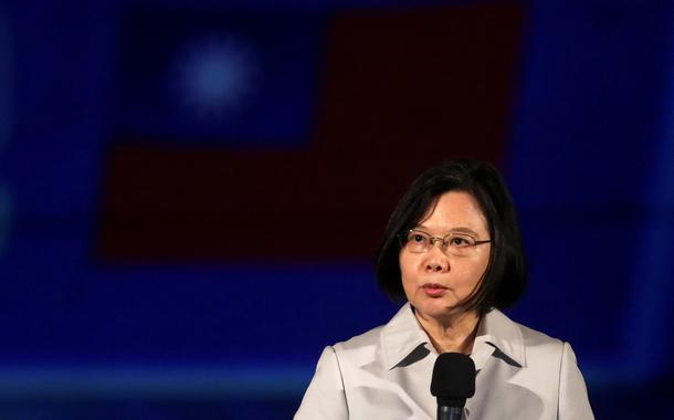 Tsai Ing-wen, presidente de Taiwan