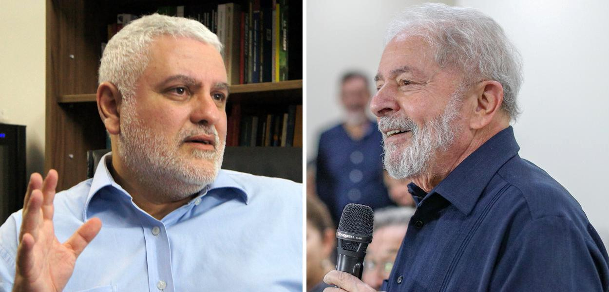 Cientista político Rudá Ricci e o ex-presidente Luiz Inácio Lula da Silva