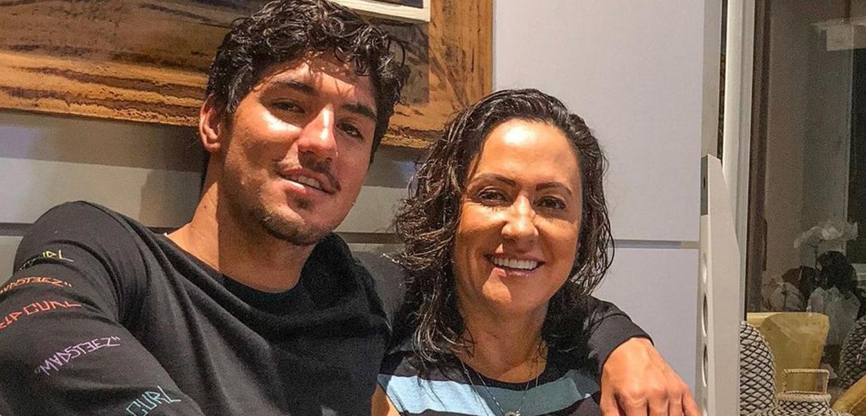 Gabriel Medina e a mãe, Simone Medina