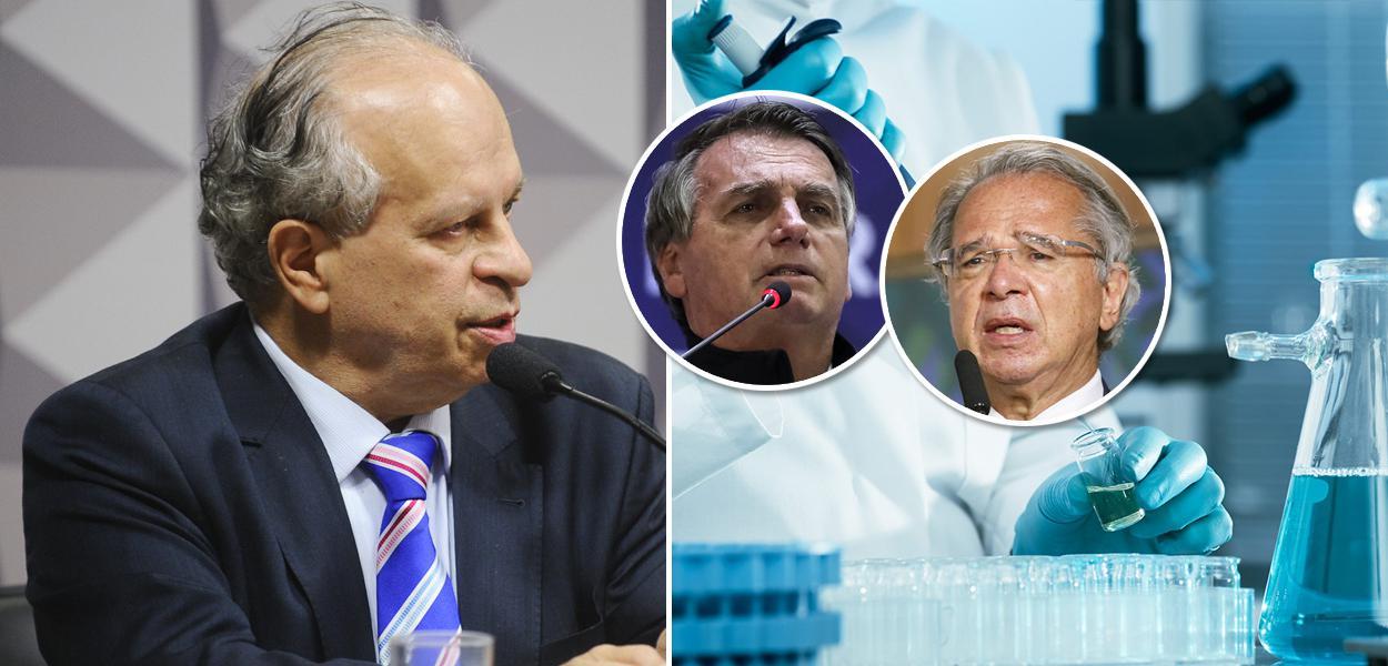Renato Janine Ribeiro, Bolsonaro e Paulo Guedes