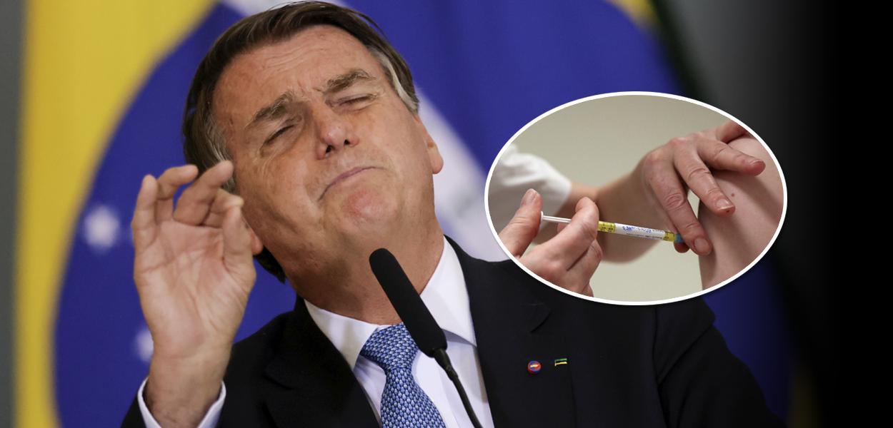 Jair Bolsonaro e vacina