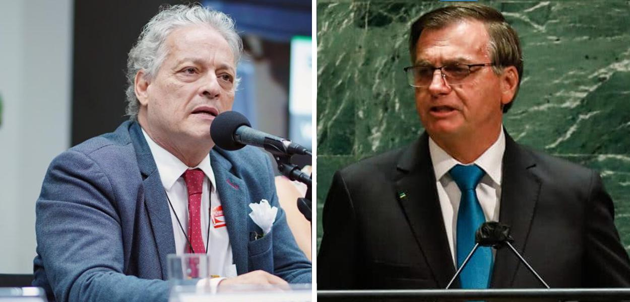 João Vicente Goulart e Jair Bolsonaro