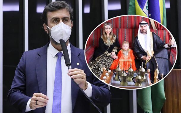 Marcelo Freixo e Eduardo Bolsonaro