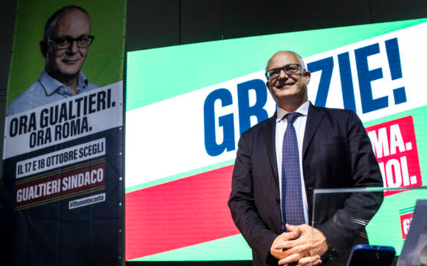 Roberto Gualtieri é o novo prefeito de Roma