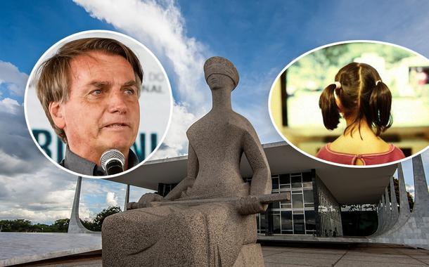 Jair Bolsonaro e o STF mais uma criança