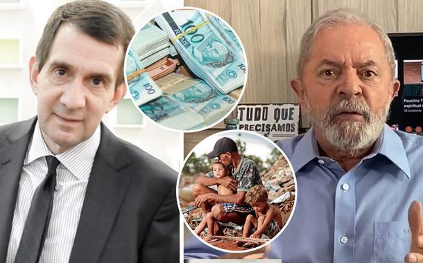 Alfredo Setúbal e o ex-presidente Lula