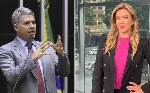 Paulo Teixeira e Thaméa Danelon