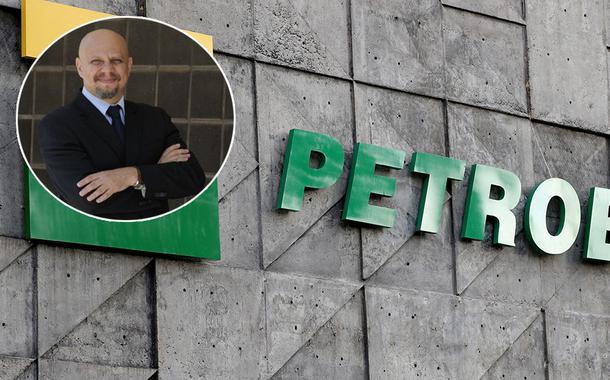 Jornalista Vicente Nunes e a sede da Petrobras no Rio