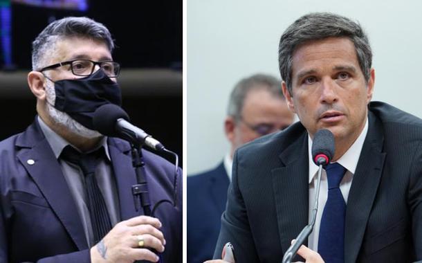 Alexandre Frota e Roberto Campos Neto