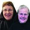 Sisters Mary Judith O'Brien  and Mary Nika Schaumber