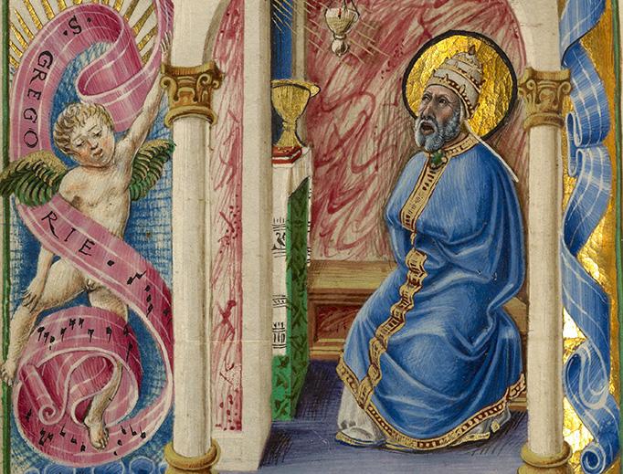 "Taddeo Crivelli, ""Saint Gregory,"" c. 1469"