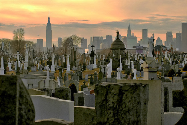 Calvary Cemetery, Queens, New York.