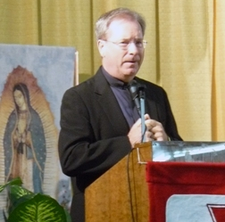 Father Gary Thomas, the subject of the book The Rite and the 2012 movie of the same name, was one of a half dozen exorcism experts to speak at the Southern California Renewal Communities' Catholic Renewal Convention held Labor Day weekend in Anaheim, Calif.