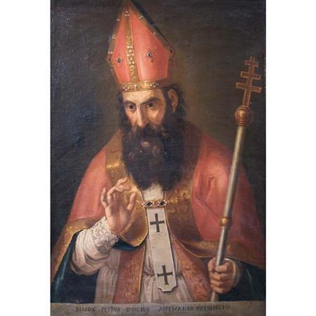 St. Evodius (artist unknown, Italy--17th century)