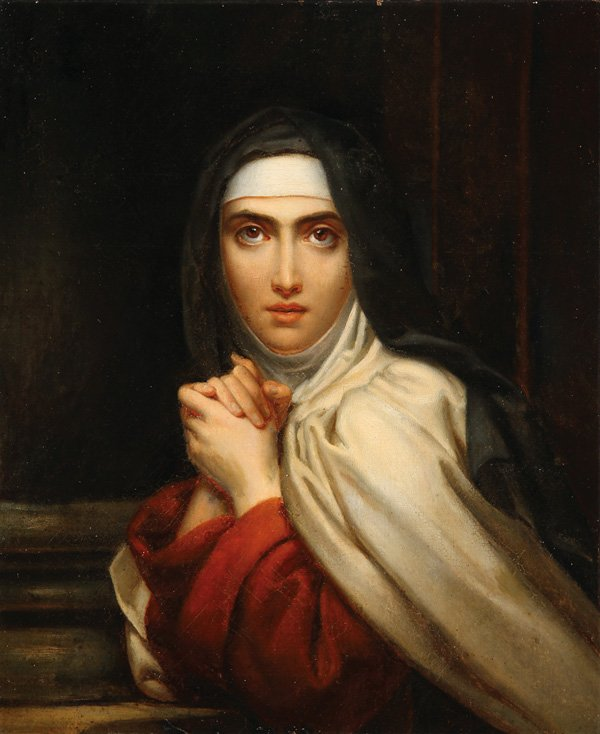 """François Gérard (1770-1837), """"Sainte Thérèse"""""""
