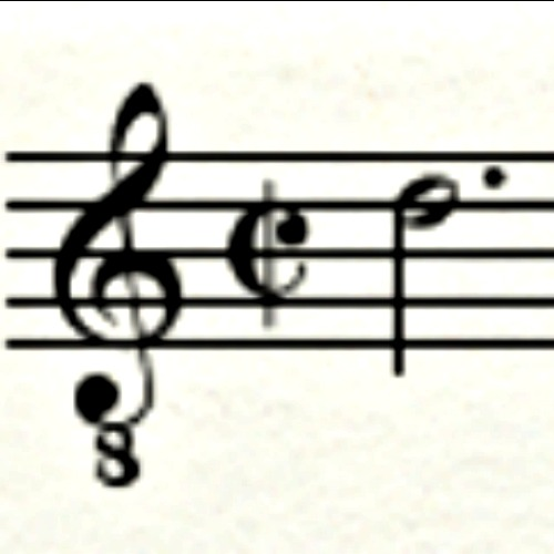 Beginning of the head motif of Palestrina's 'Missa Papae Marcelli,' one of the most widely known pieces of polyphony.