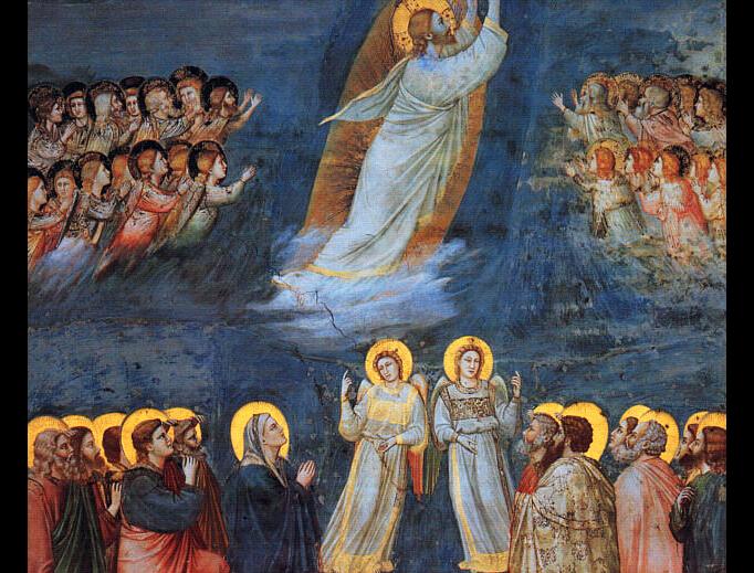 Giotto di Bondone (1266-1337), The Ascension