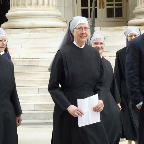 Sister Loraine Maguire of the Little Sisters of the Poor