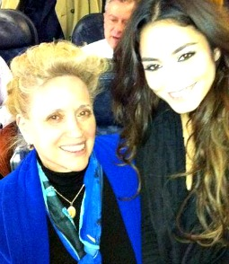 Kathy DiFiore (l), founder of Several Sources Shelters and 'Gimme Shelter' star Vanessa Hudgens.