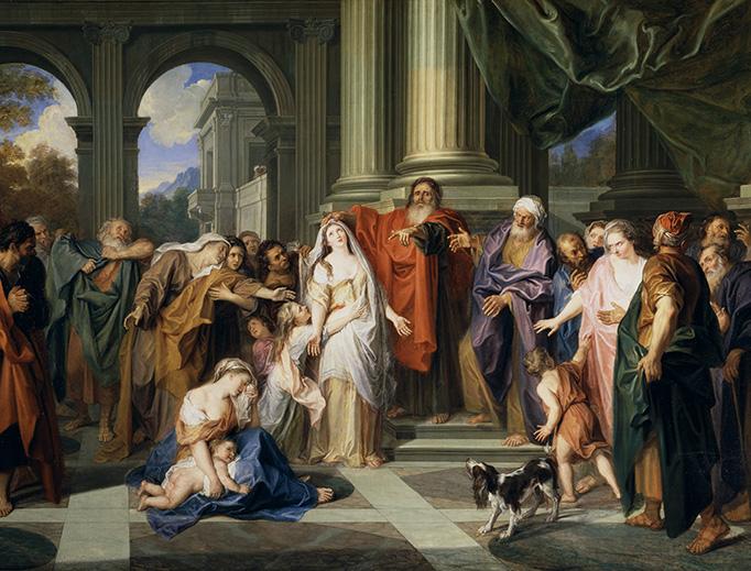 """Antoine Coypel, """"Susannah and the Elders,"""" c. 1695"""