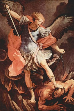 St. Michael the Archangel, painted by Guido Reni (1575–1642)