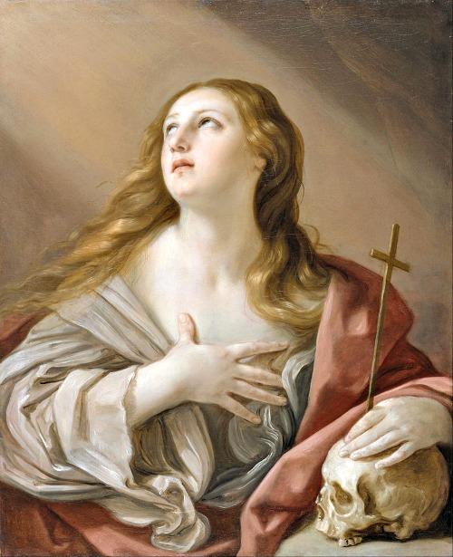 Penitent Magdalene, by Guido Reni