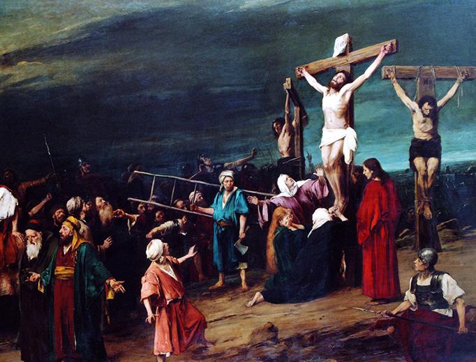 Mihály Munkácsy, 'Golgotha', 1884