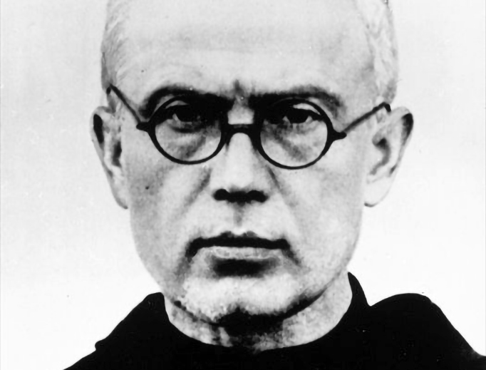St. Maximilian Kolbe in 1940.